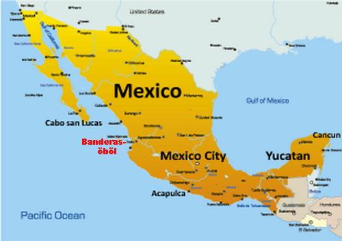 mexikó térkép Fókusz   Trópusi paradicsom a robbantások helyén mexikó térkép