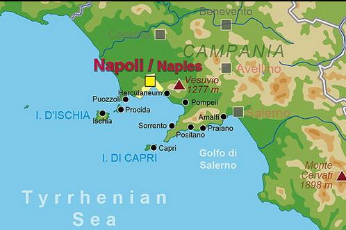 pompeii térkép Fókusz   A Tirrén tenger barlangba rejtett kincse